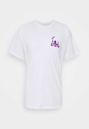 TEE VICE UNISEX - Print T-shirt - white