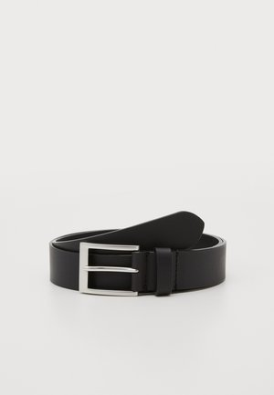 UNISEX LEATHER - Belte - black