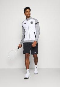 Fila - SMUDO - Zip-up hoodie - light grey melange/white - 1