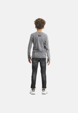 JACOBO - Long sleeved top - deep black