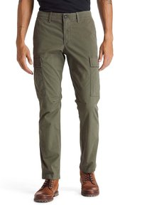 Timberland - CORE TWILL  - Cargo trousers - grape leaf - 0