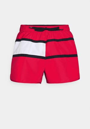 CORE FLAG RUNNER - Swimming shorts - red