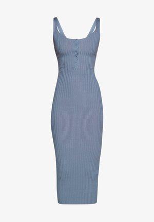 DRESS - Pouzdrové šaty - denim blue