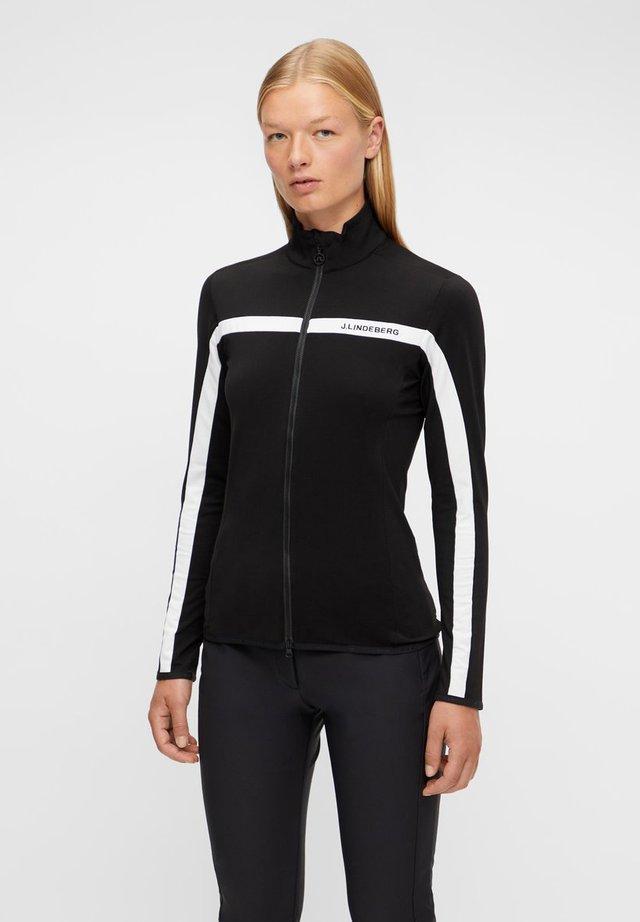 JANICE  - Training jacket - black