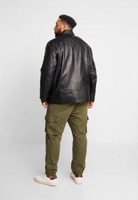 Belstaff - BIG & TALL V RACER  - Leather jacket - black - 2