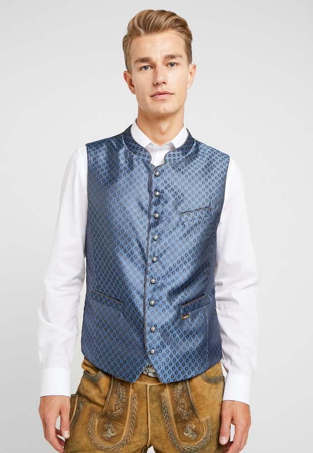 PINO - Waistcoat - blue