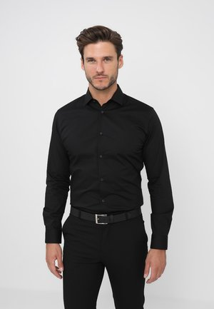 SLHSLIMBROOKLYN - Formal shirt - black