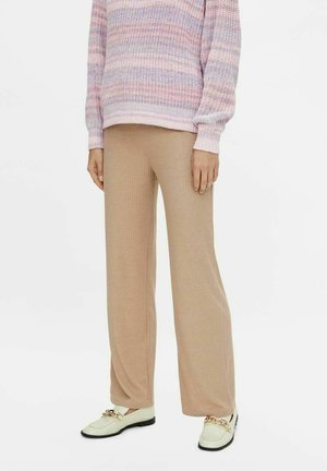 Tracksuit bottoms - warm taupe