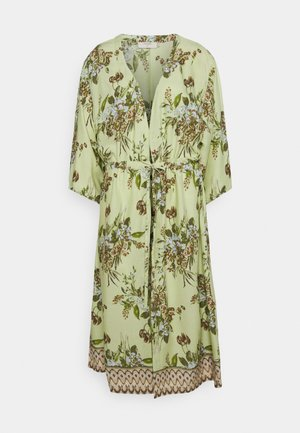 CRBAHIA KIMONO - Summer jacket - green bouquet