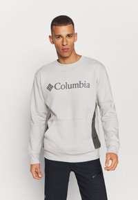 Columbia - MINAM RIVERCREW - Sweatshirt - nimbus grey heather/city grey - 0