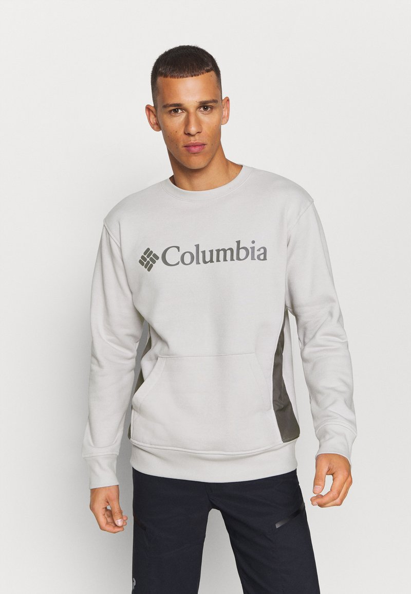 Columbia - MINAM RIVERCREW - Sweatshirt - nimbus grey heather/city grey