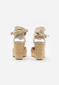 ALDO - MUSCHINO - High heeled sandals - gold - 3