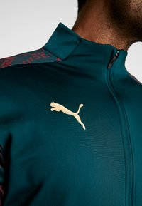 Puma - ITALIEN FIGC STADIUM THIRD JACKET - Træningsjakker - ponderosa pine/cordovan - 8