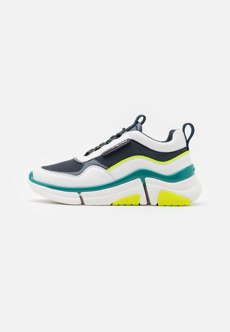 KARL LAGERFELD - VENTURE LAZARUS LOOP MIX - Sneakersy niskie - white/navy
