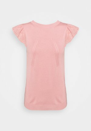 MANGLAISE - Jednoduché triko - rose des sables