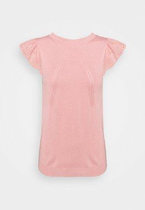 MANGLAISE - Basic T-shirt - rose des sables