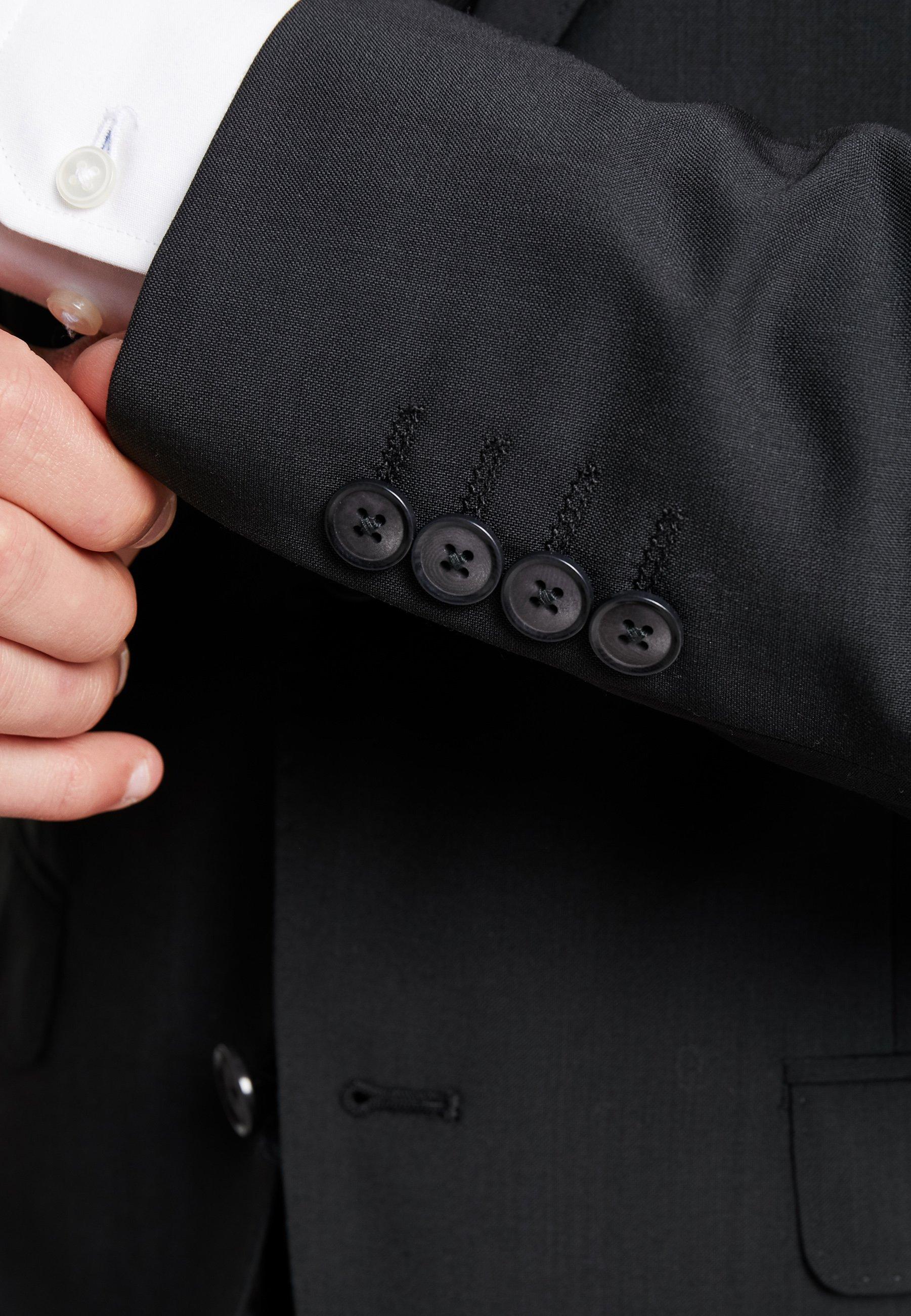 Bugatti Slim Fit - Dress Schwarz