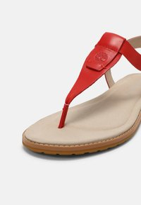 Timberland - CHICAGO RIVERSIDE - T-bar sandals - red - 5