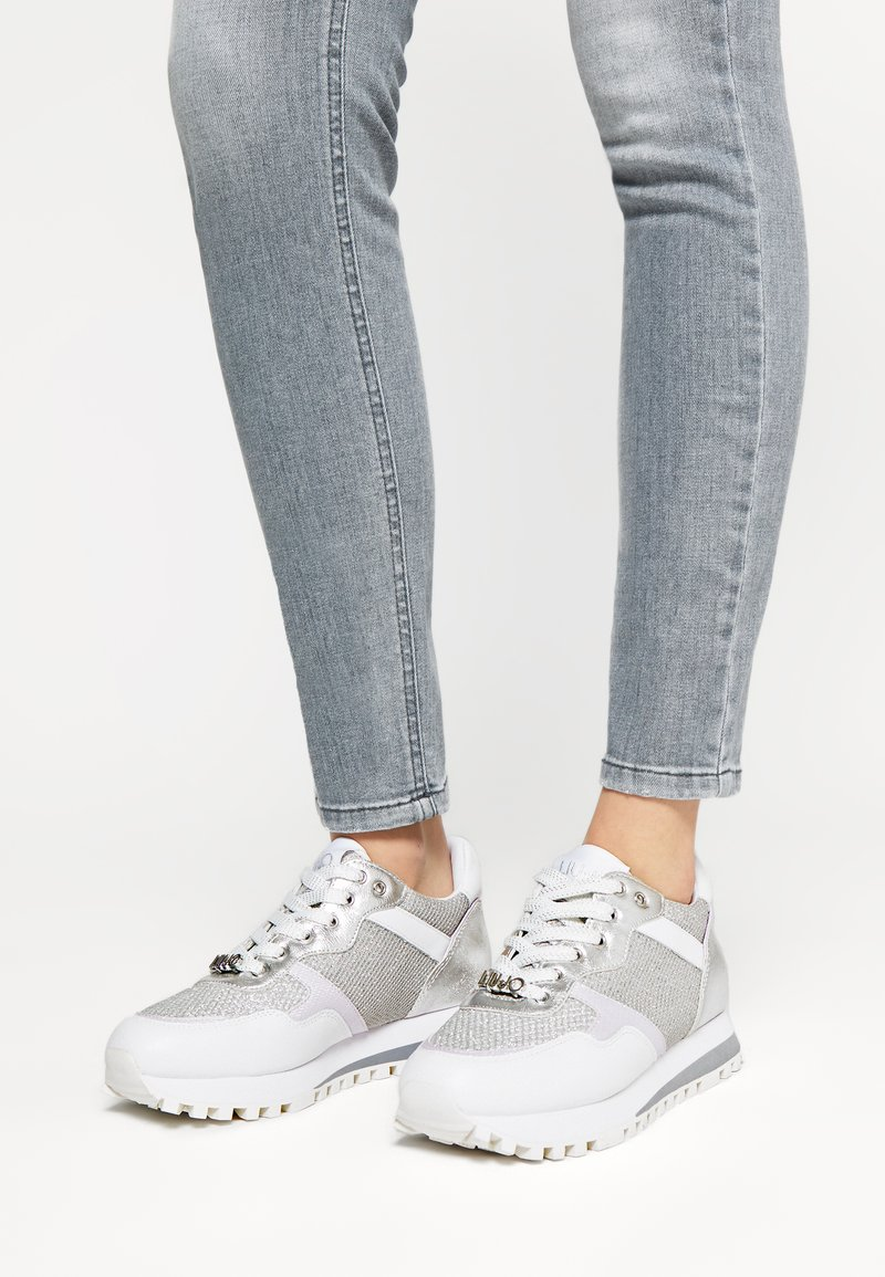 Liu Jo Jeans - Trainers - white/silver