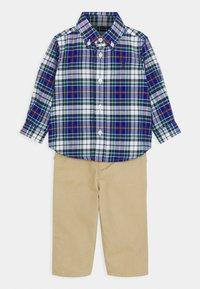 Polo Ralph Lauren - PANT SET - Pantalon classique - navy/multi - 0