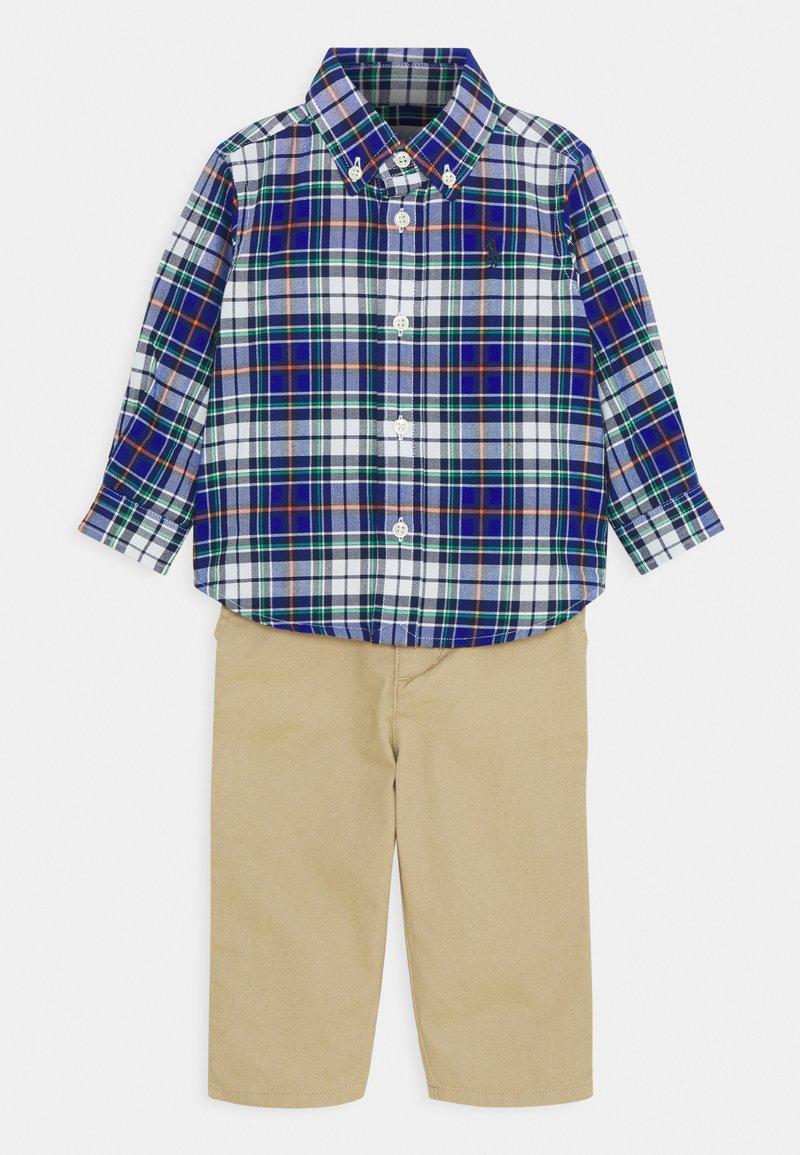 Polo Ralph Lauren - PANT SET - Pantalon classique - navy/multi