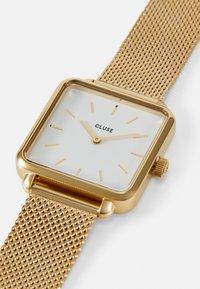 Cluse - LA TETRAGONE - Watch - gold-coloured/white - 4
