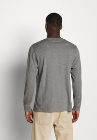 Carhartt WIP - POCKET  - Long sleeved top - dark grey heather - 2