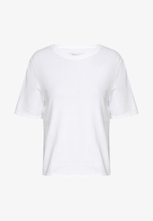 FRANKIE BOYFRIEND TEE - T-shirt basic - white