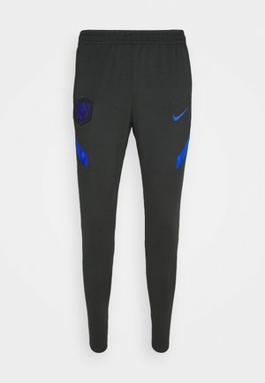 NIEDERLANDE KNVB DRY PANT - Tracksuit bottoms - black/bright blue
