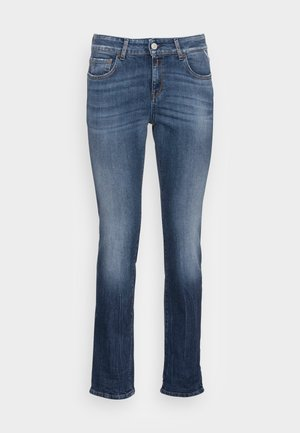 FAABY PANTS - Jean slim - medium blue