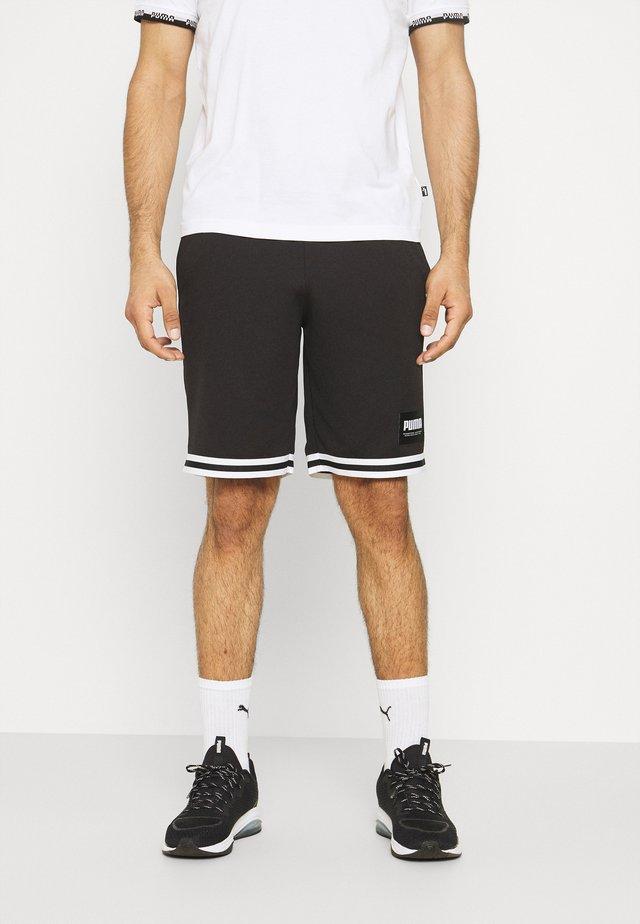 SUMMER COURT SHORTS - kurze Sporthose - black