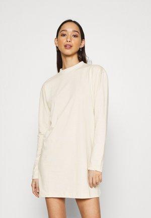 BASIC DRESS  - Vestito di maglina - stone