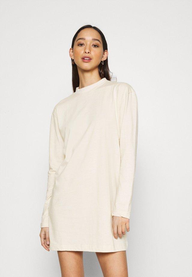 BASIC DRESS  - Jersey dress - stone