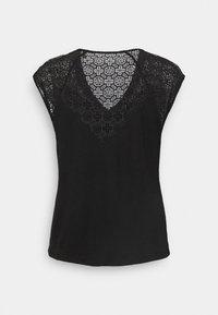 Morgan - DELAN - Print T-shirt - noir - 1