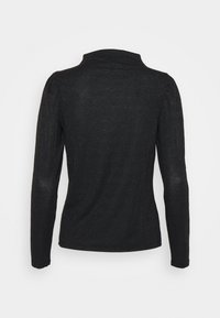 Vero Moda - VMSILVIA GLITTER  - Long sleeved top - black - 7