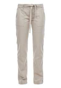 QS by s.Oliver - Trousers - latte - 0