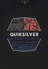 Quiksilver - DRIFT AWAY - Printtipaita - black - 3