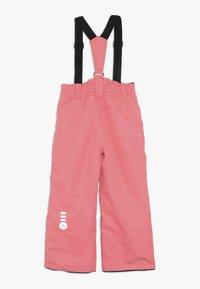 Color Kids - SANGLO PADDED SKI PANTS - Snow pants - sugar coral - 1