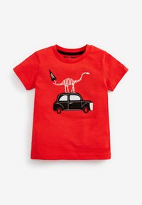 Next - 3 PACK - Print T-shirt - red - 1