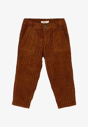 LOOSE FIT - Trousers - tobacco brown