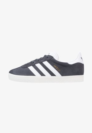 GAZELLE  - Sneakers - solid grey/white/gold metallic