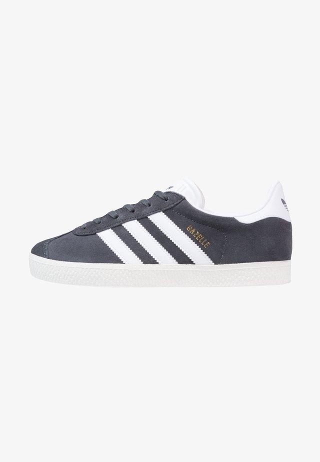 GAZELLE  - Zapatillas - solid grey/white/gold metallic