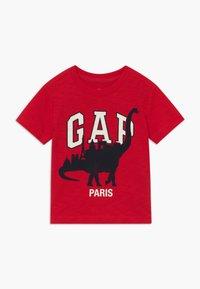GAP - TODDLER BOY CITY TEE - T-shirt print - pure red - 0