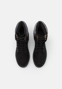 New Look - CHILLED - Lace-up ankle boots - black - 4