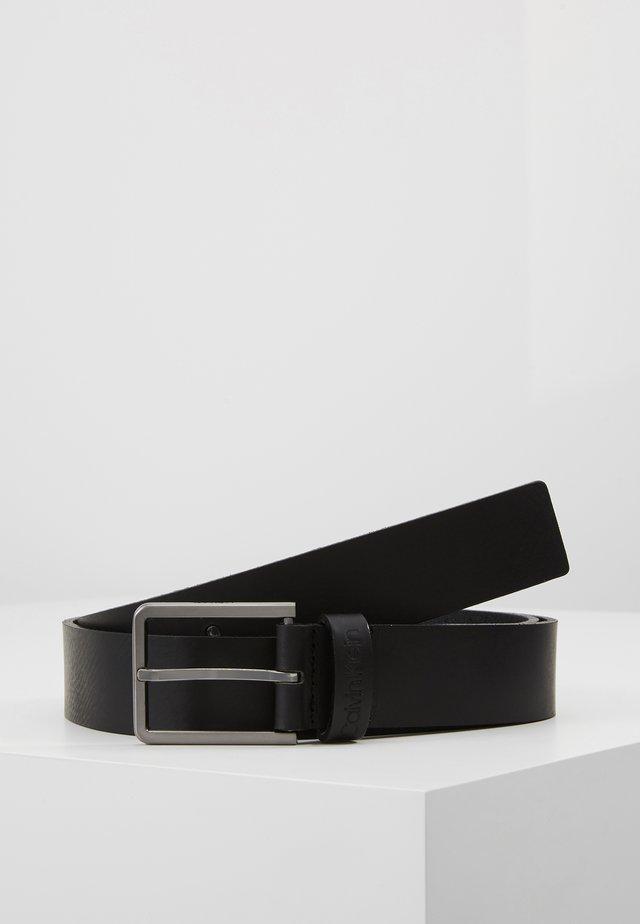 ESSENTIAL BELT - Pásek - black