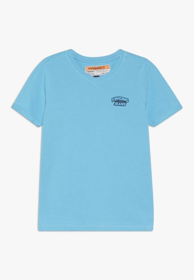 HANGU - Basic T-shirt - pacific blue