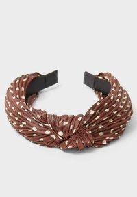 Stradivarius - Hair styling accessory - dark brown - 3