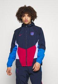 Nike Performance - FC BARCELONA - Club wear - noble red/obsidian/purple pulse/soar - 0