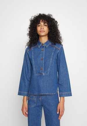 Blouse - truly navy