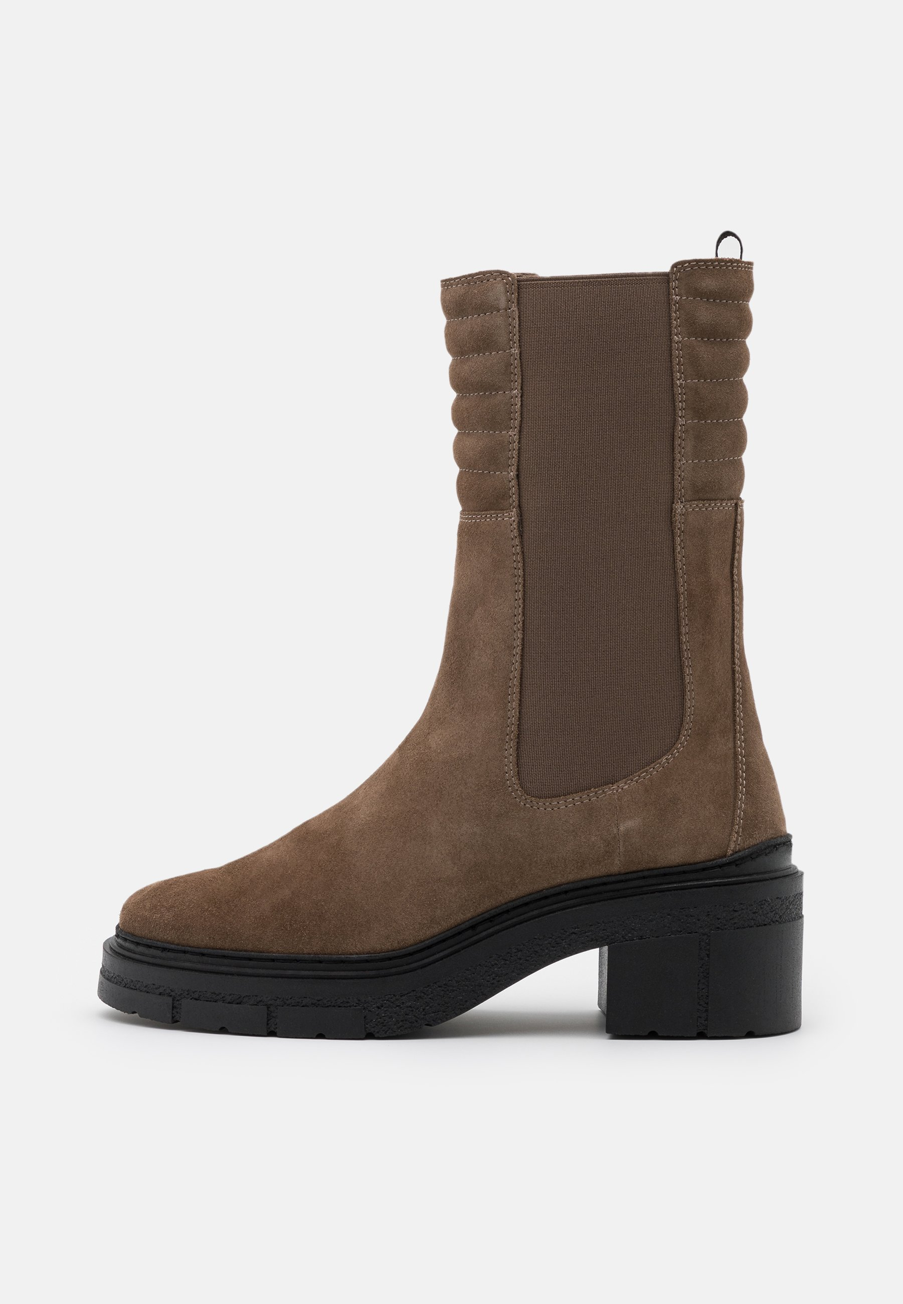 Unisa Jina - Plateaustiefel Taupe/taupe